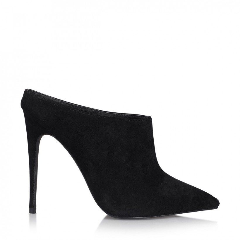Revolve Black Suede by Billini Shoes