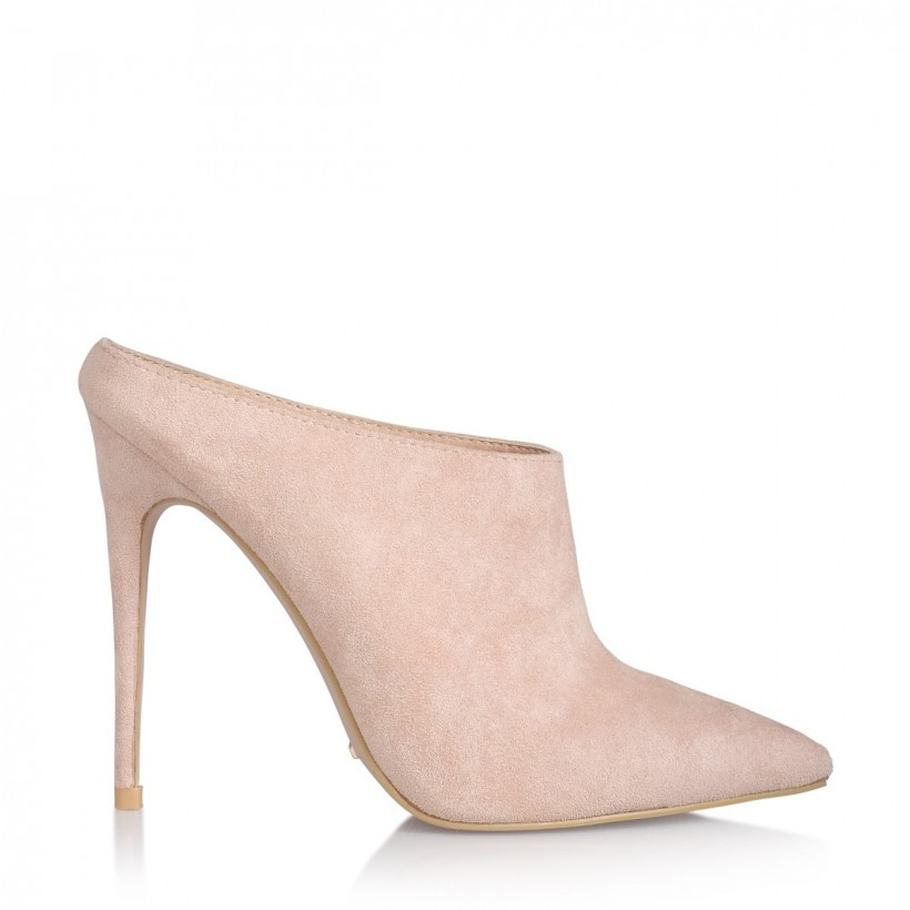 Revolve Blush Suede by Billini Shoes