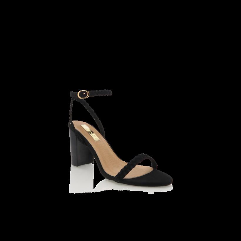 Rita - Black Nubuck by Billini Shoes