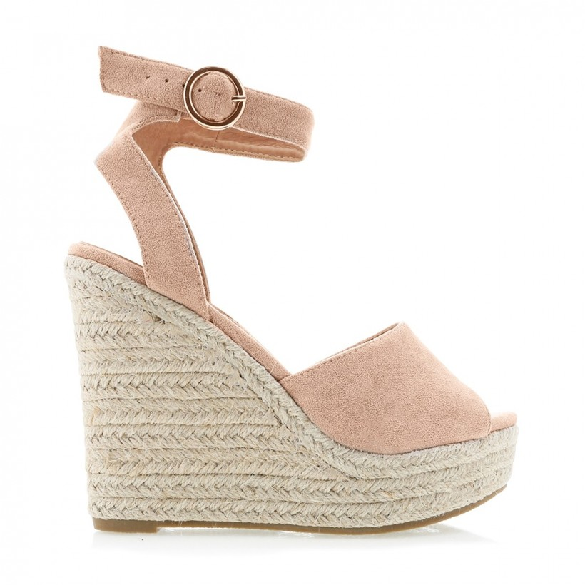 Safra Blush Suede by Billini Shoes