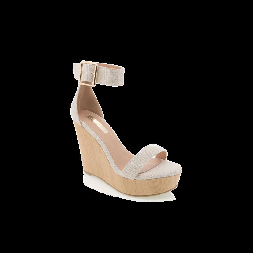 Seychelles - Cream Woven by Billini Shoes