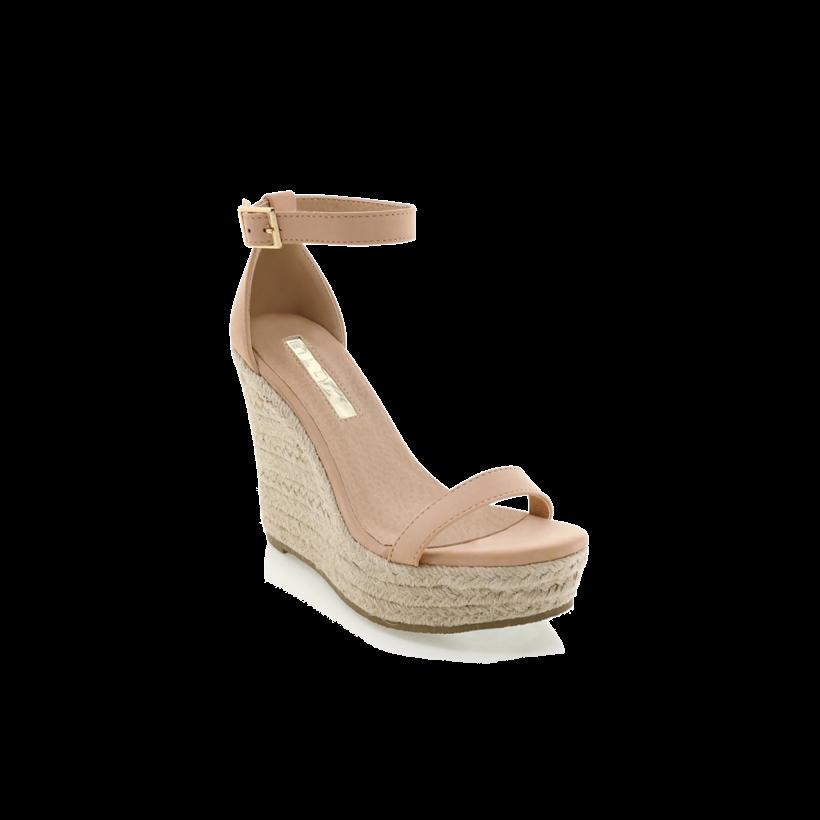 Solange - Nude Nubuck by Billini Shoes