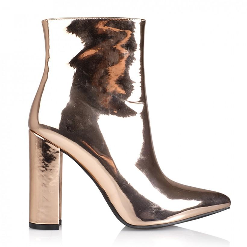 Tatum Rose Gold Metallic by Billini Shoes