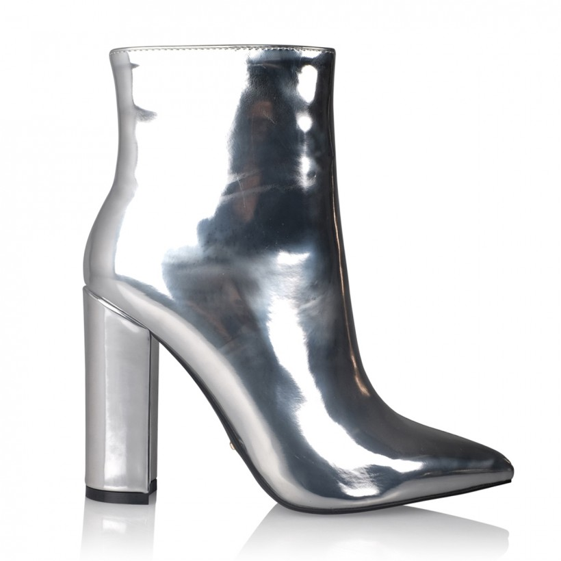 Tatum Silver Metallic by Billini Shoes