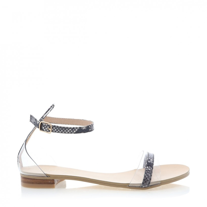 Umbria Natural Snake by Billini Shoes