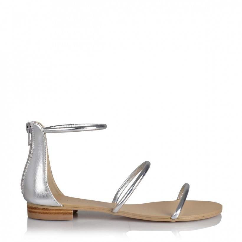 Unique Silver Metallic by Billini Shoes