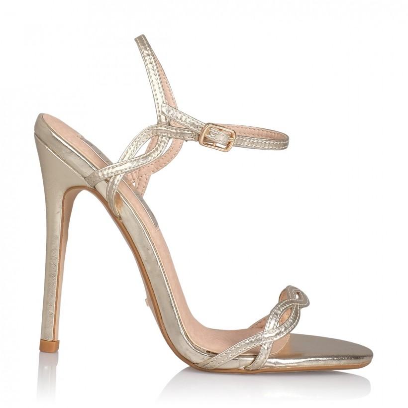 Venus Light Gold Metallic by Billini Shoes