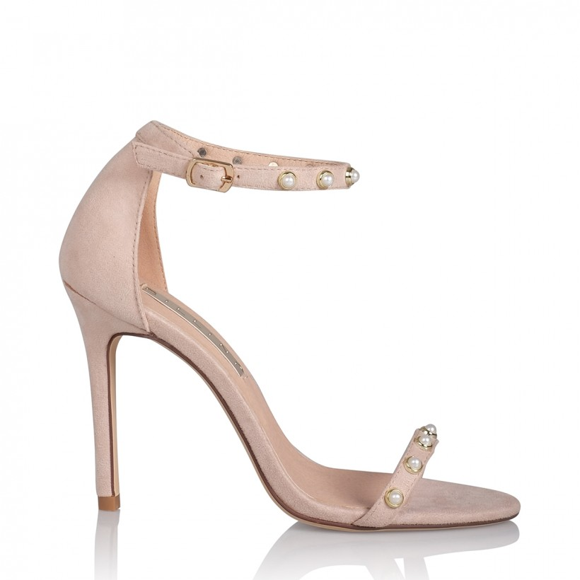 Vianna Blush Suede by Billini Shoes
