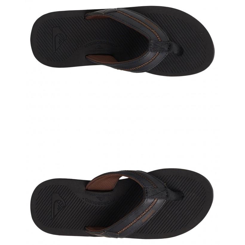 Coastal Oasis Deluxe Sandal Black/Black/Grey