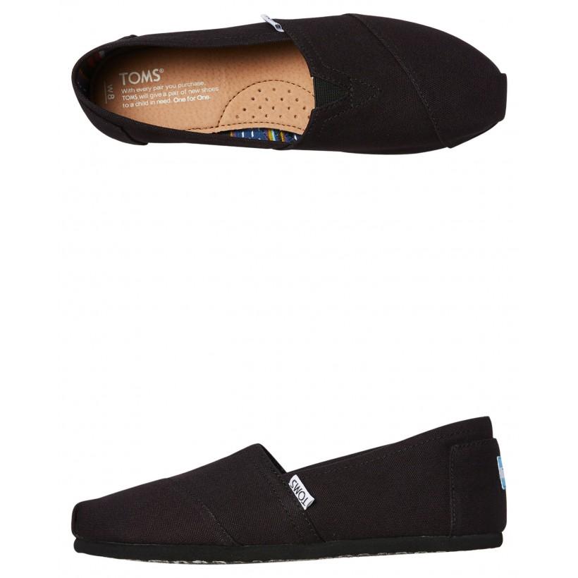 Womens Alpargata Shoe Black Black
