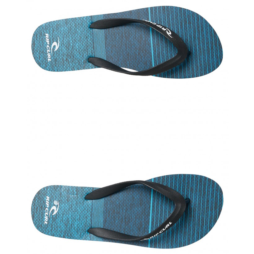 Mens Driven Thong Black Blue By RIP CURL