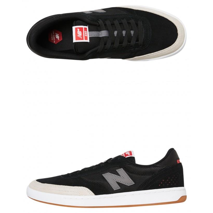 440 Mens Shoe Black Grey