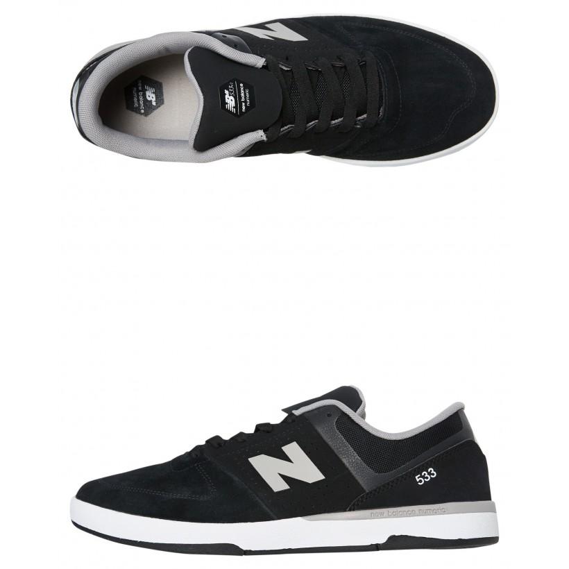 533 Mens Shoe Black Grey