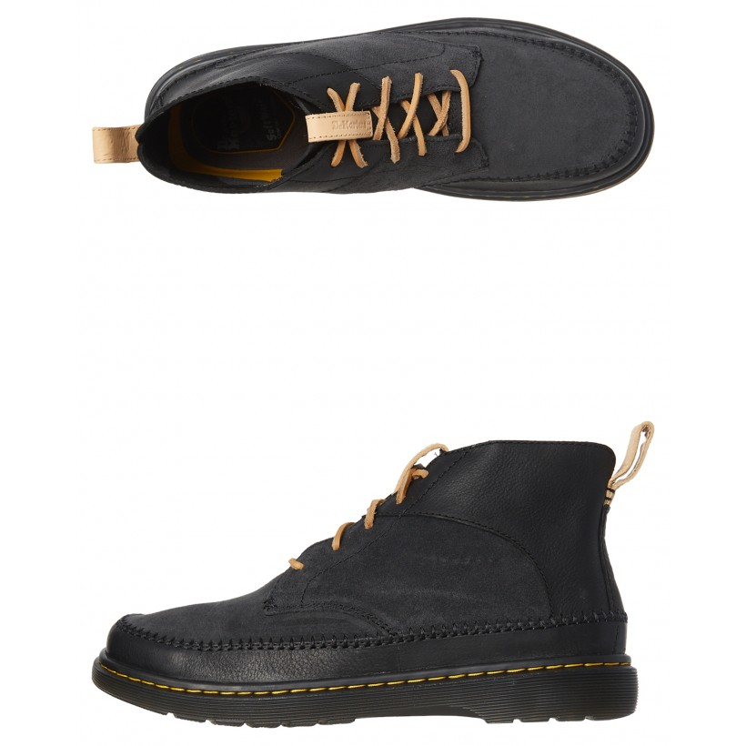Mens Flloyd 5 Eye Boot Black By DR. MARTENS