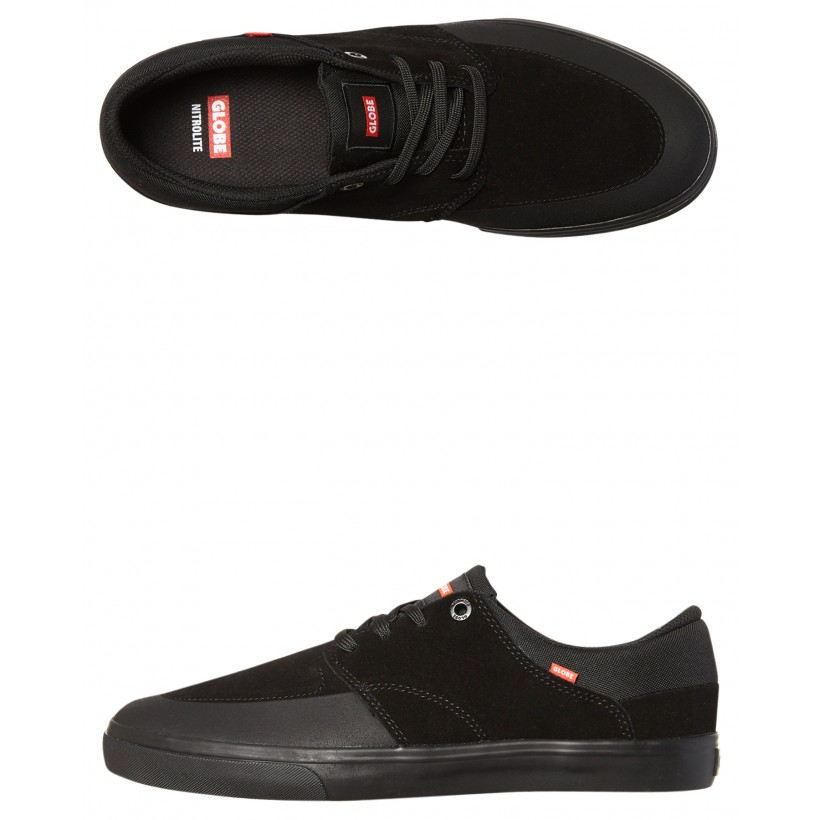 Chase Suede Shoe Black By GLOBE
