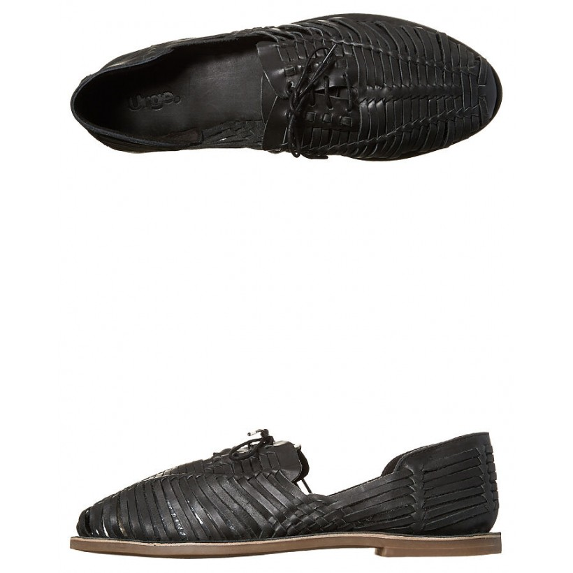 Mykonos Ii Shoe Black Oily