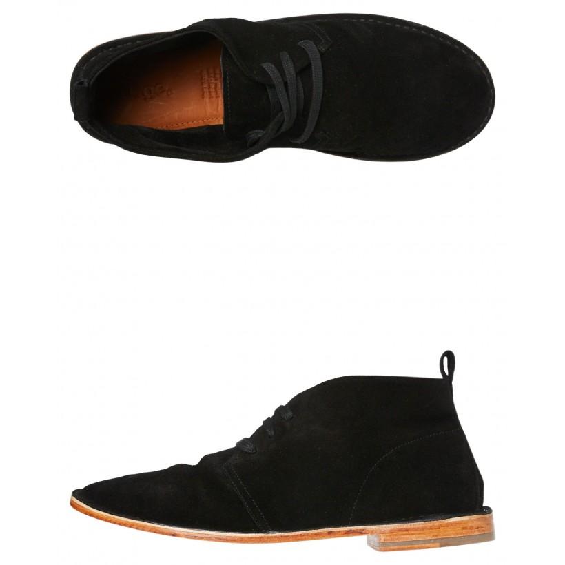 Banzai Mens Boot Black Suede