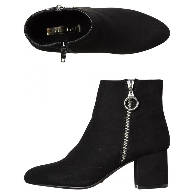 Womens Keko Boot Black Suede By BILLINI