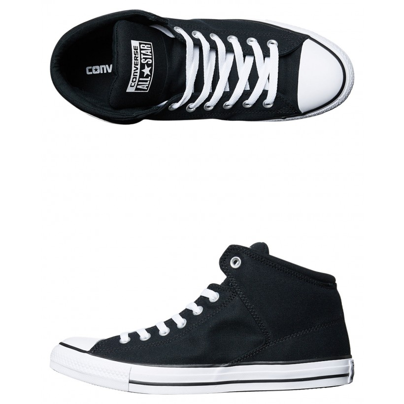 Chuck Taylor All Star High Street High Top Shoe Black White