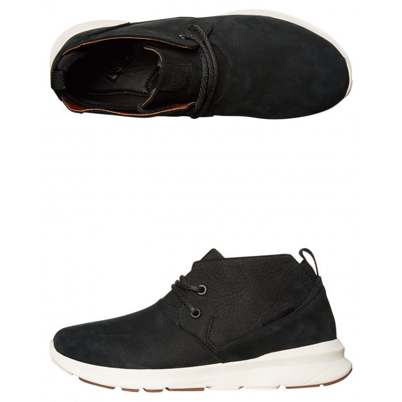 Mens Ashlar Le Shoe Black White