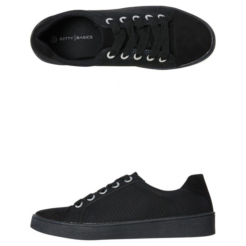 Womens Adventure Sneaker Black By BETTY BASICS