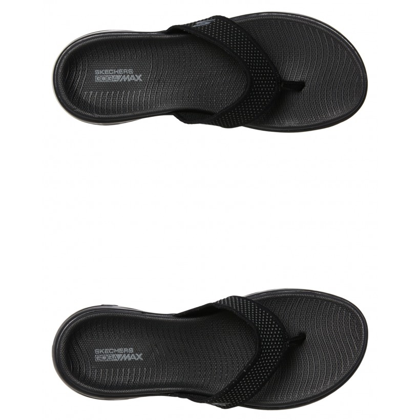 On The Go 600 Womens Thong Black By SKECHERS
