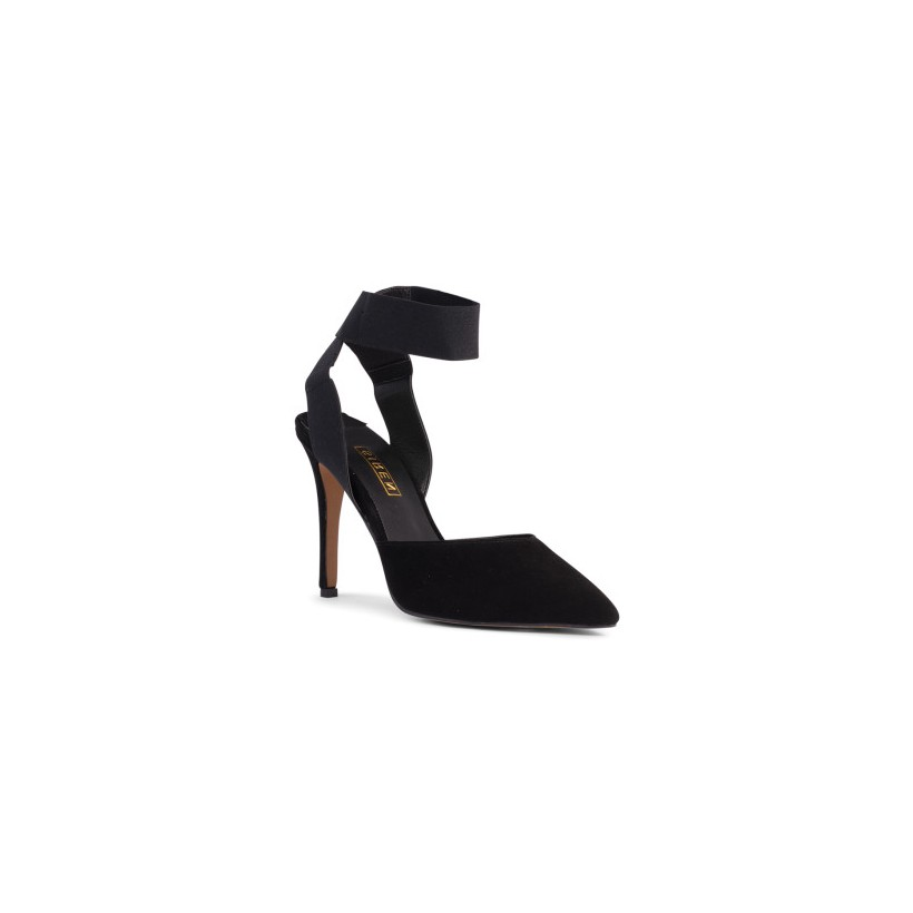 Bobo - Black Suede by Siren Shoes