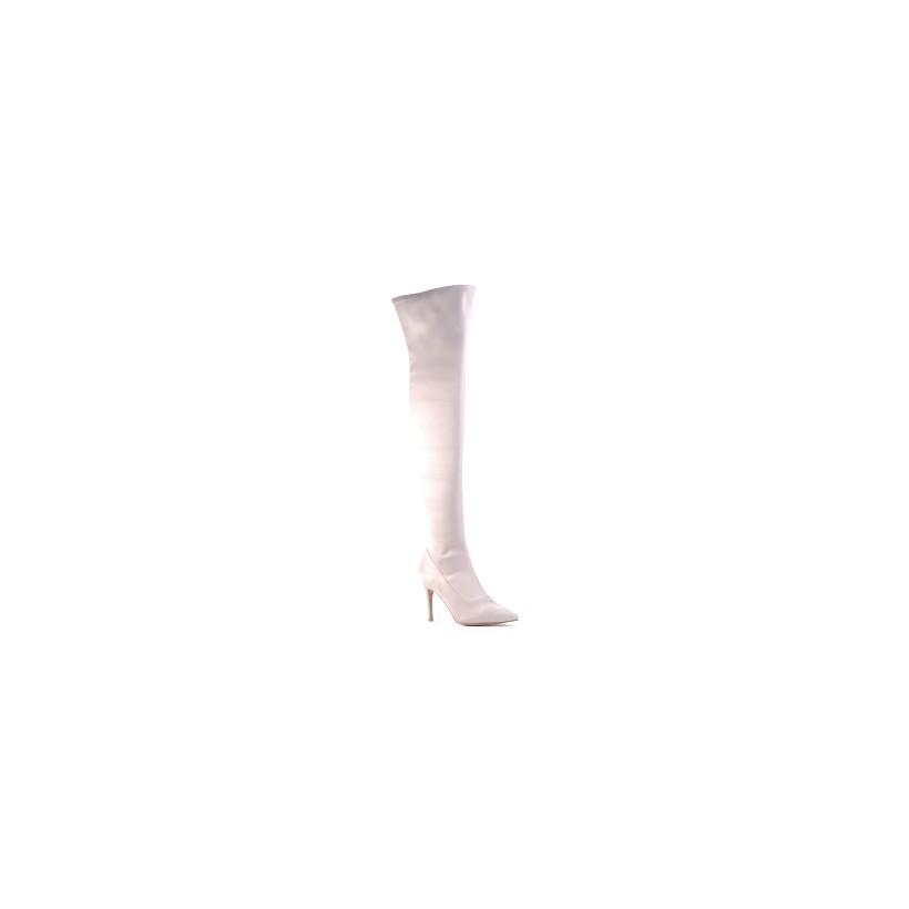 Bratt - Sand Satin by Siren Shoes