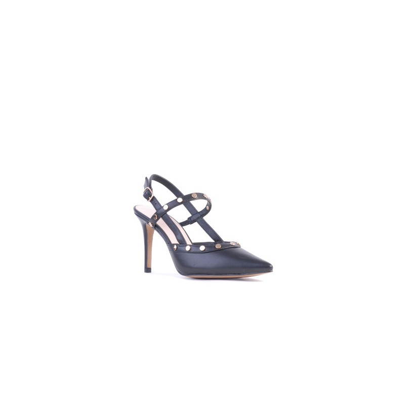 Brecken - Black Kid by Siren Shoes