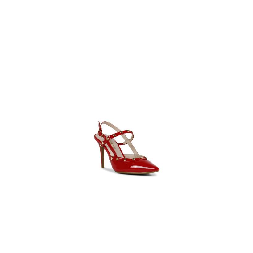Brecken - Chilli Patent by Siren Shoes