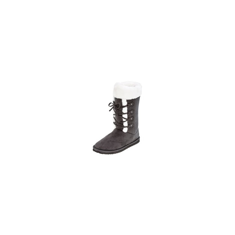Anton Ugg Boots in Beige (W/White) by Mooloola