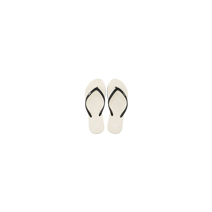 Fiesta Thongs in Black/White by Rip Curl