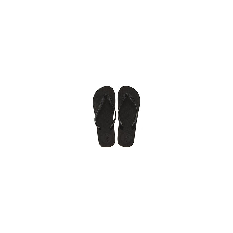 """Boomerang Thongs in """"Black/Grey""""  by Willi Clothing And Footwear"""