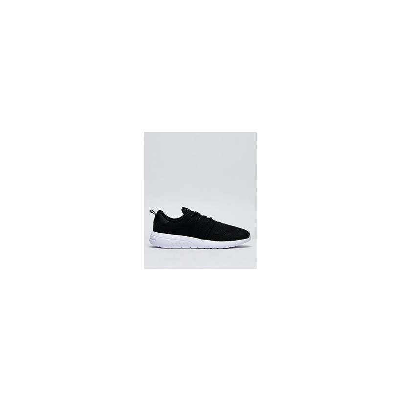 Bristol Shoes in Black/White/Knit by Lucid