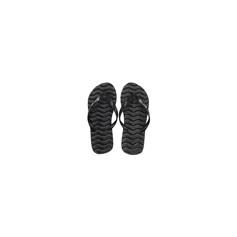 """Duo Thongs in """"Grey/Black""""  by Salty Life"""