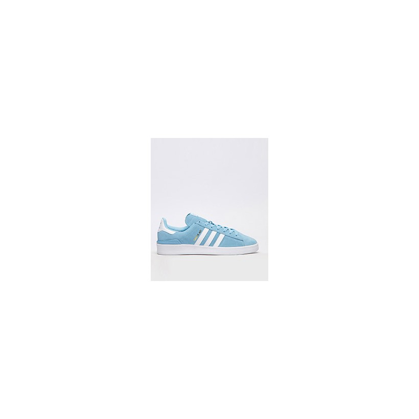 """Campus ADV Shoes in """"Clear Blue White/Ftwr Whi""""  by Adidas"""