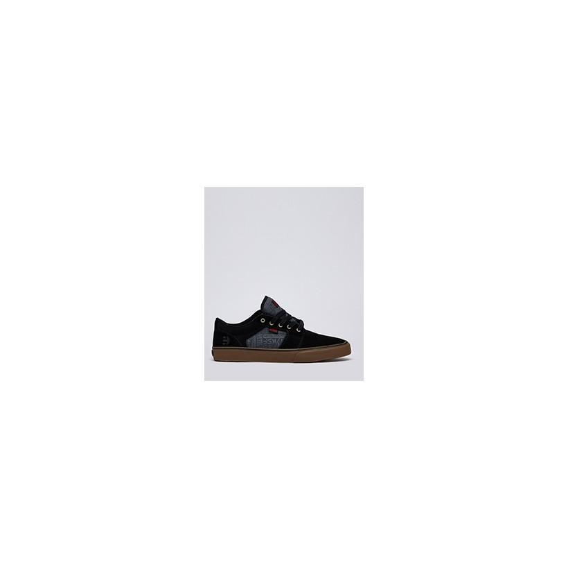 "Barge Mulisha Shoes in ""Black/Dark Grey/Gum""  by Etnies"