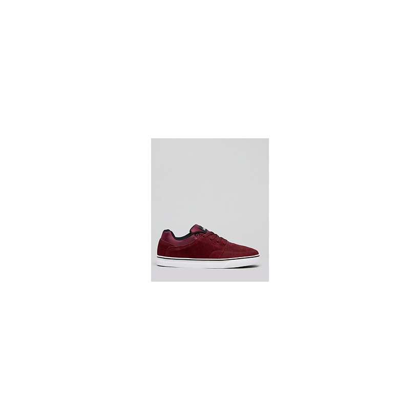 "Portland Shoes in ""Burgundy/Black""  by Sanction"