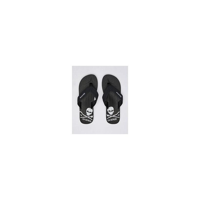 Burleigh Ss Thongs in Ss Black by Kustom