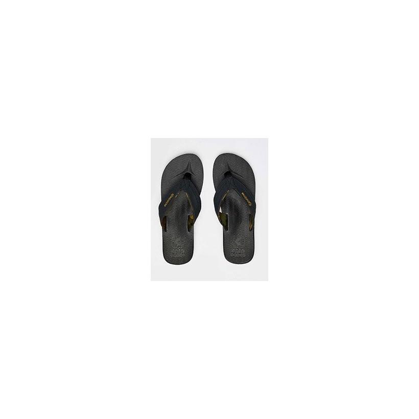 Burleigh Thongs in Black Camo by Kustom