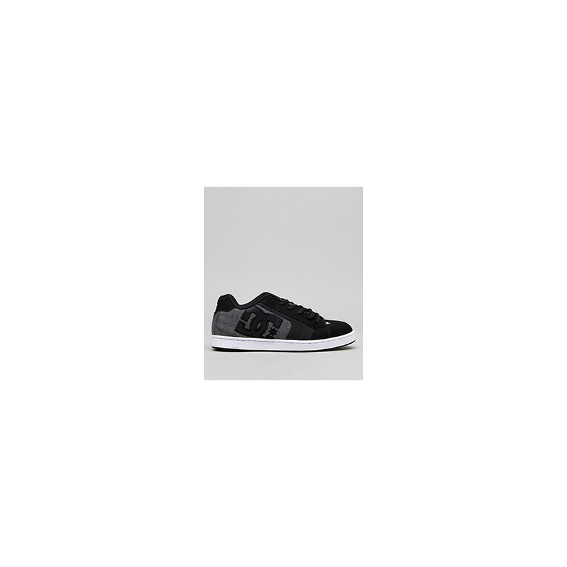 """Net SE Shoes in """"Black Resin""""  by DC Shoes"""