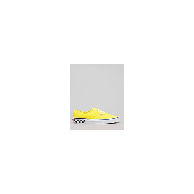 Authentic Shoes in (Check Block) Blazing Yel by Vans