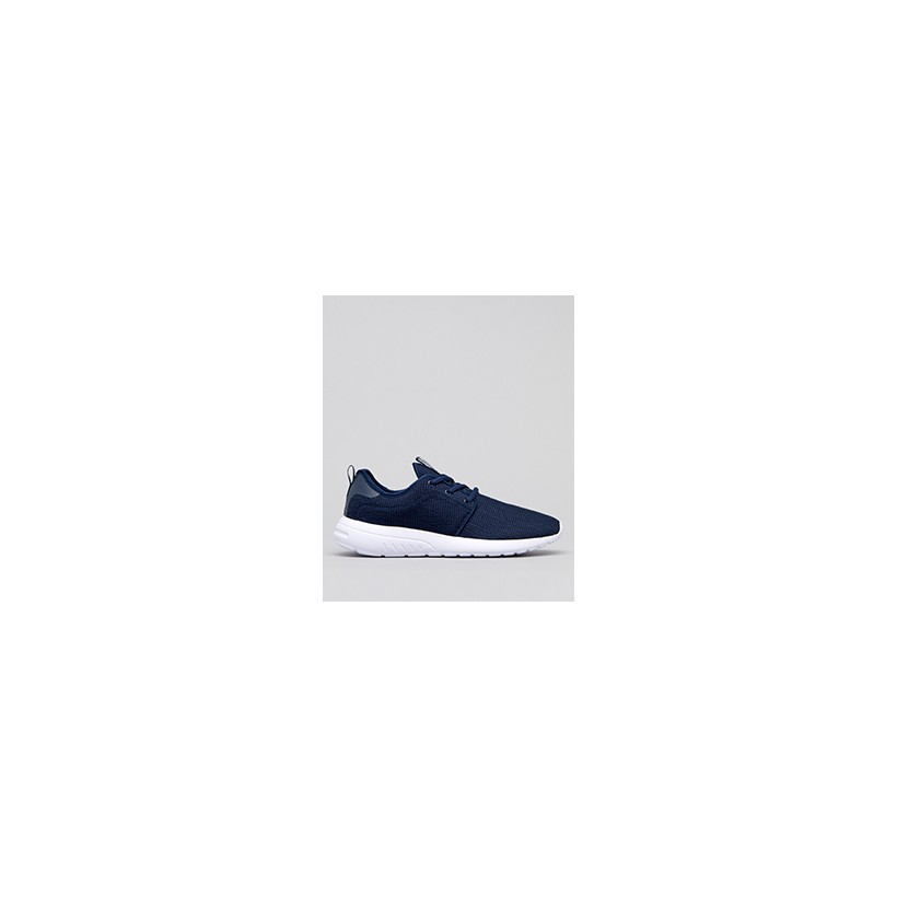 """Bristol Shoes in """"Navy/White Knit""""  by Lucid"""