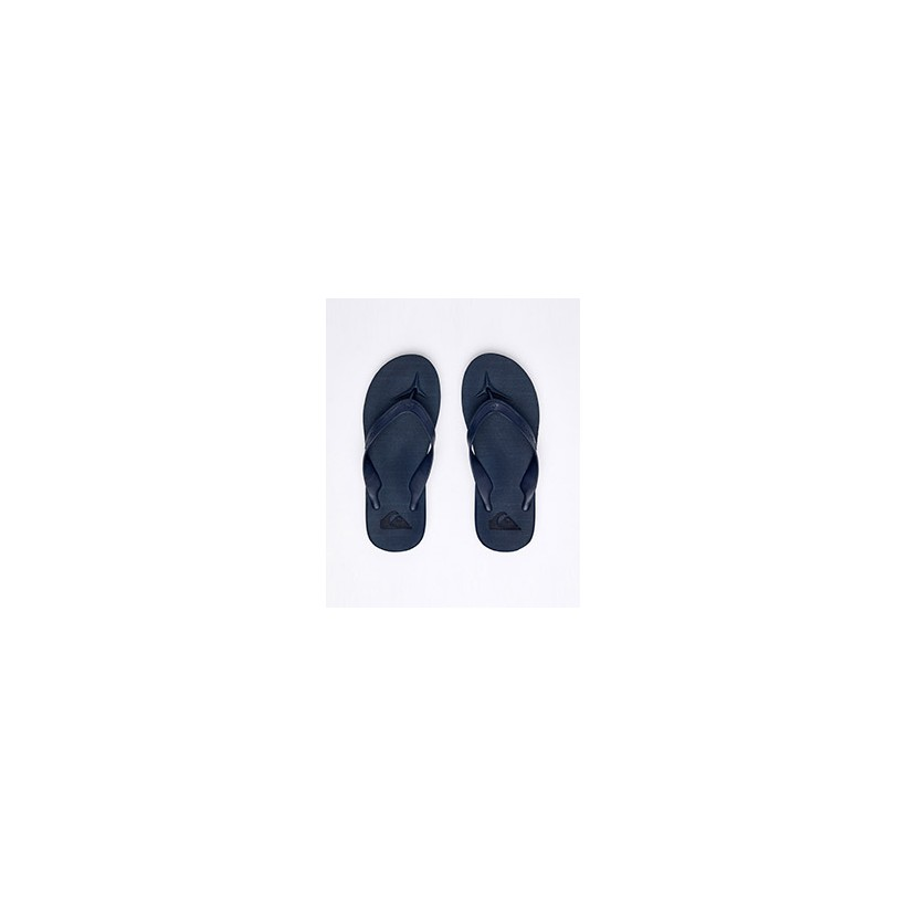 """Carver II Deluxe Thongs in """"Black/Black/Brown""""""""Blue/Blue/Blue""""  by Quiksilver"""