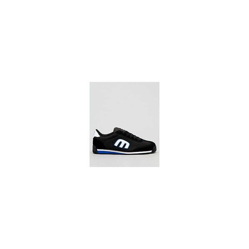 """Lo-Cut II Shoes in """"Black/Charcoal/Blue""""  by Etnies"""