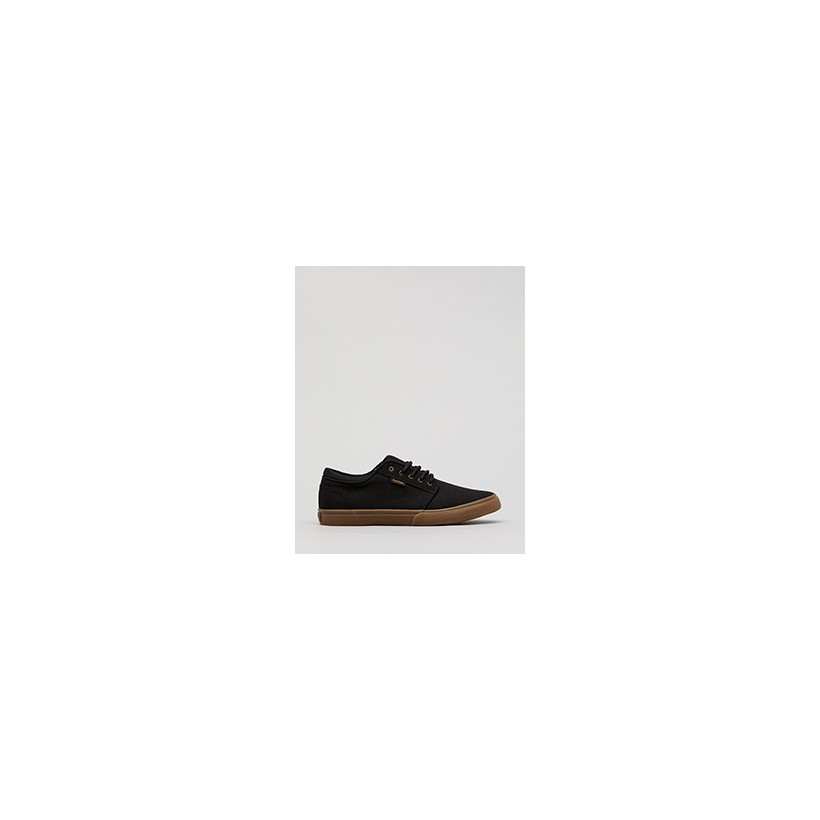 """Remark Lo-Cut Shoes in """"Black/Gum""""  by Kustom"""