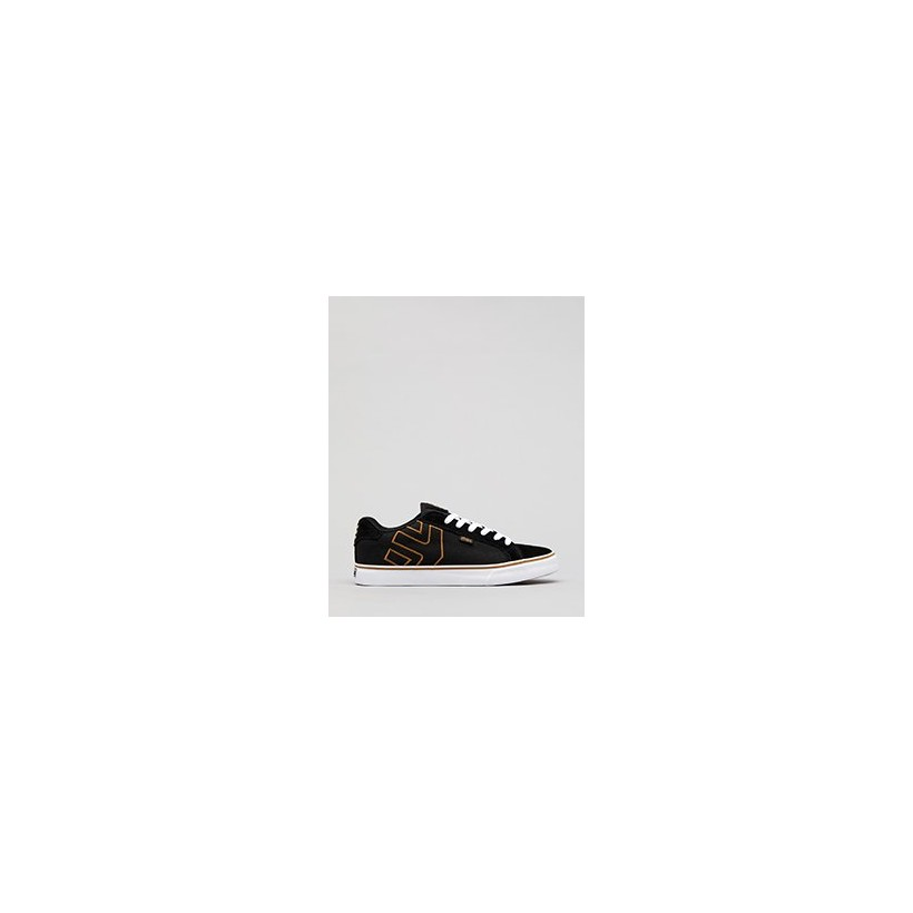 Fader Shoes in Black/Gum/White by Etnies