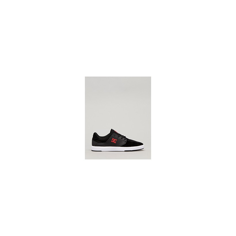 "Plaza TC Shoes in ""Black/Grey/Red""  by DC Shoes"