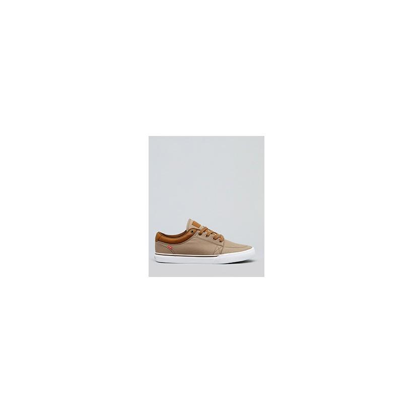 "GS Timberwolf Shoes in ""Woodsmoke Twill/Brown""  by Globe"