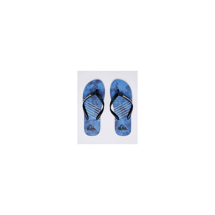 "Molokai Shibori Thongs in ""Black/Blue/Blue""  by Quiksilver"